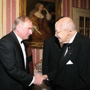 Consul Alfred Tombor Tintera & Otto von Habsburg